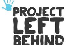 Project Left Behind / Our mission is to promote education, improve nutrition and living conditions for orphans around the globe. 100% of all private and NuttZo donations go to the orphans.