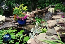 Water features #waterfeature / Find ponds, waterfalls, fountains and even pools that provide inspiration for your own yard.