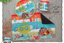 Kids Dinner Sets - Personalised Kids Stuff / Personalise our Unbreakable Kids Mugs, Unbreakable Kids Plates and Non Slip Placemats by adding a child's name, nickname, special message or favourite phrase. They make an awesome Birthday, Christening or Naming Day Gift!
