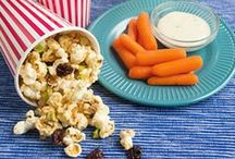 Travel Snacks / Whether you're heading out on a family vacation or just running errands, having travel-ready snacks available can save you from hunger meltdowns. / by Produce for Kids