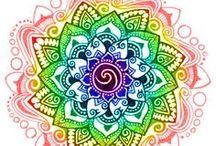 Mandala Doodles Paisley and zentangle