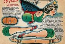 PaperDolls,Newspaper,Comics,Magazines / by Lilah Dahl