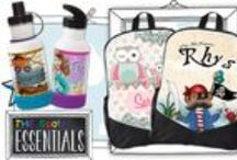 Personalised Kids Bags, Bag Tags & Clothing Labels / Have your Mini Peeps carry all their goodies in one of our awesome SPATZ Mini Peeps® Personalised Kids Bags, Decorate their bag with a Personalised Kids Bag Tag or never loose clothing again with our Iron On Clothing Labels.