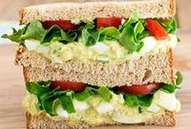 Sandwiches / Healthy and delicious recipes for sandwiches, wraps, paninis and more!