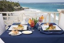 L'Azure Restaurant / L'Azure Restaurant at The Crane Residential Resort serves up a range of classic and Caribbean delicacies. / by Totally Barbados