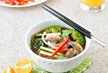 Asian Flavors / Your favorite Asian-inspired recipes with a healthy spin!