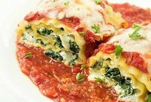 Italian Flavors / Healthy takes on your favorite Italian recipes!