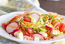 Spiralized Recipes / Spiralized fruits & veggies, like zoodles, are a hit with kids - and extremely popular! Get fresh ideas here for spiralizing your favorites.