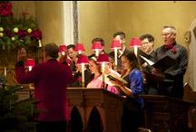 Festival of Carols 2015 / The Elora Festival Singers appeared in four sold-out performances of Festival of Carols at St. John's Church in Elora, Ontario on December 21st and 22nd, 2015.