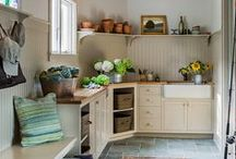 Laundry Rooms / Hard-working spaces like laundry rooms and mud rooms