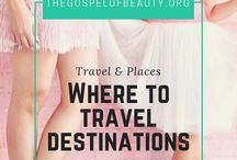 || Where to Travel Destinations || / Favorite places, hotels, destinations, booking tips, travel ideas, cruises, side trips, road trips, weekend warriors, travel destinations, travel tips, hotel rooms, hotel hacks, travel quotes, travel journal