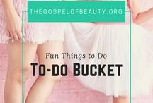 || To-Do Bucket || / Goals, resolutions, life advice, bucket list. things to do, crafts, DIY