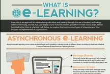 E-Learning / Elearning and online education infographics