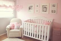 Pink, Gray and SHEEP Nursery / Inspiration for our pink, gray and SHEEP themed baby girl nursery.