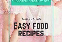 || Easy Food Recipes || / Food, organic, wellness, clean eating, diet, homemade recipes, vegan