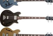 Bass Guitars / Some of my favorite bass guitars by Fender, Music Man, Gibson, PRS,  Epiphone, and others.