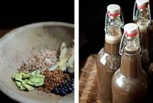 * Beverages / Homemade drinks like kombucha, ginger ale, rootbeer, egg nog, fermented sodas, hot chocolate, bulletproof coffee, chai syrup, etc.  / by Kelly Youngberg