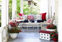 Porches / Because porches make a house look like home. :) / by Hooked on Houses