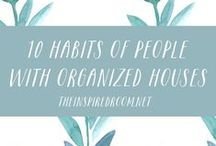 The Clean & Organized Home / How to simplify, organize, clean, and keep my home running smoothly.