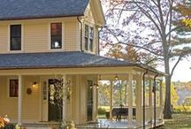 Porches / I love indoor-outdoor spaces like front porches, sunrooms, gazebos, conservatories, screened porches, you name it!