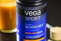 PRODUCTS | VEGA SPORT / Clean, plant-based, natural, and Informed Choice certified, the three-stage Vega Sport Nutrition System is specifically developed to help athletes perform at their best—before, during, and after training and competition. / by VegaTeam