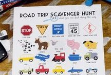 Traveling With Kids / Tips and resources for families traveling with kids by road, or air.