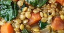 Vegan Lentil Recipes / Easy vegan lentil recipes, healthy lentil recipes, vegan lentil recipes, lentil meatloaf, lentil soup, lentil salad, vegetarian lentil recipes.