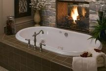Home: Bathroom Design / by Jennifer Stanford