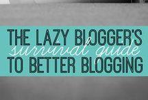 B L O G G I N G. / Blogging. Starting a blog. Creating a blog. Writing a blog.  Building a blog. Building readership. Building a blog.  Growing a blog. Monetizing a blog. Making money with a blog. Blogging 101. #blog #blogging #howtoblog / by Sara @ Be Inspired Creative