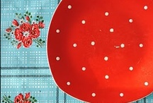 red & white polka dots / by francis