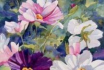 Art- Flowers / Paintings of flowers in various mediums.