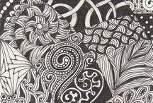 Art: Draw -Tangles