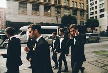 {Those Dapper Gentlemen} / by Nicole Dominguez