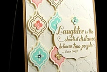 Mosaic Madness-Stampin Up / Cards featuring Mosaic Madness stamp set, punch, and embossing folder / by Sue Richardson
