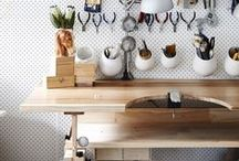 Decor - Studio space / by Marjolaine Bourget