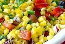 Saladas / Idéias para minha dieta