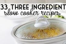 Slow Cooker // Crockpot / Slow cooker recipes, crockpot recipes, easy dinner recipes, slow cooker dinners, slow cooker dessert, slow cooker breakfast, slow cooker freezer meals.