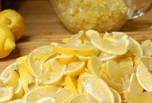 Food - Lemon recipes