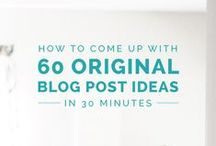 Blog Content Help // / Ever experience writers block and need some content help to spark some creativity.  Have a never ending supply of blog post ideas with these content help blog posts :)