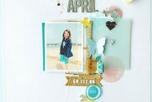 Scrapbooking | Layouts / Scrapbook layouts that inspire and instruct #scrapbooking