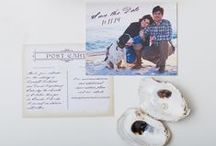 Save the Dates / save the date wedding ideas / by Gourmet Invitations