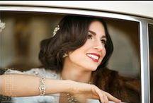 Art Deco Wedding Invitations / Patterned wedding invitations / by Gourmet Invitations