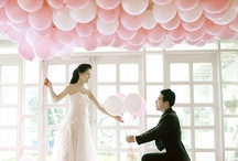 Balloon Decor / Decorations with balloons! Lots and lots of balloons!