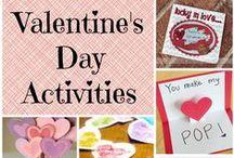 Valentine's / Valentine's Day Ideas, Valentine's Crafts, Valentine's Food, Valentine's Decorations, Valentine's for Kids and Valentine's Treats and Desserts.
