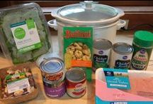Crock pot classic & freezer meals / by Anne W
