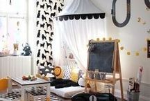 Kids Rooms / Designs, Wall Art, Color Schemes for Kids Rooms / by Cassandra GoddessOfChaos