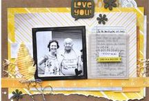 GUEST: Angie Gutshall / Showcasing #Scrapbook layouts with innovative embellishing ideas! Curated by Angie Gutshall