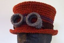 crochet hats / by Anne W