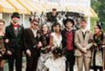 Steampunk Wedding / Steampunk wedding invitations / by Gourmet Invitations