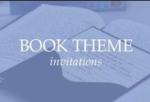 BOOK THEME INVITATIONS / Storybook invitations are perfect for lovers of books, story theme event and library theme events. book themed invitations, book themed invitation, book themed wedding invitations, book themed wedding invitation, storybook wedding invitations, storybook invitation, book wedding invitation, library card wedding invitations, library card invitation, library inspired wedding invitation, library wedding invitations, library invitations, fairytale wedding invitations, fairytale invitation